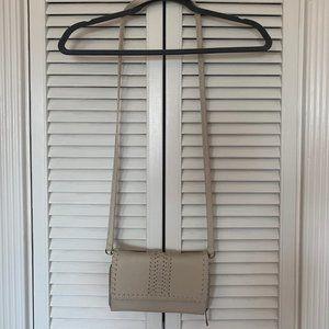 Handbags - Cream crossbody purse bag